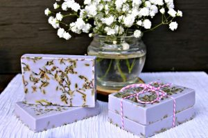 Lavender Rosemary Essential Oil Soap