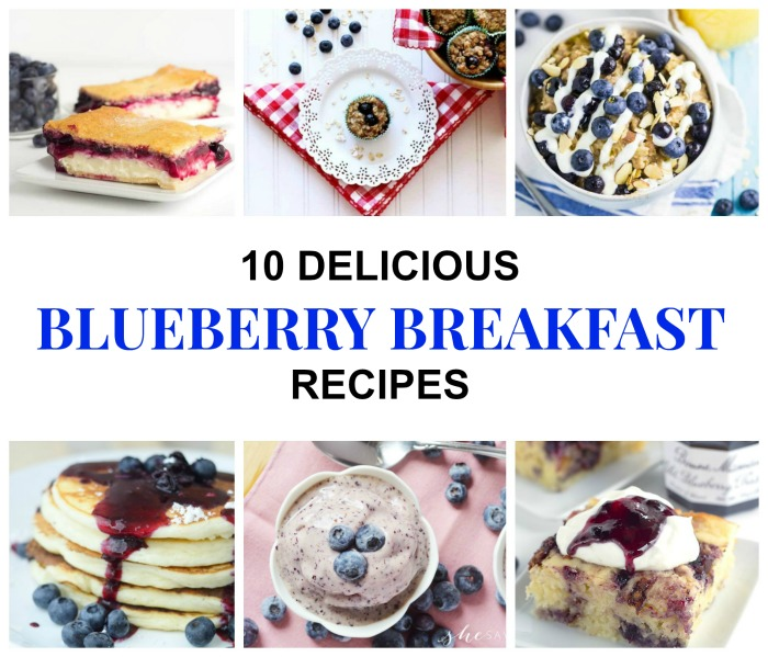 If you're tired of same thing for breakfast day after day try these10 Delicious Blueberry Breakfast Recipes You're sure to love! #KnickofTime #breakfastrecipes #blueberries | www.knick.net