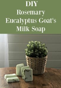Fresh Rosemary Eucalyptus Goat's Milk Soap