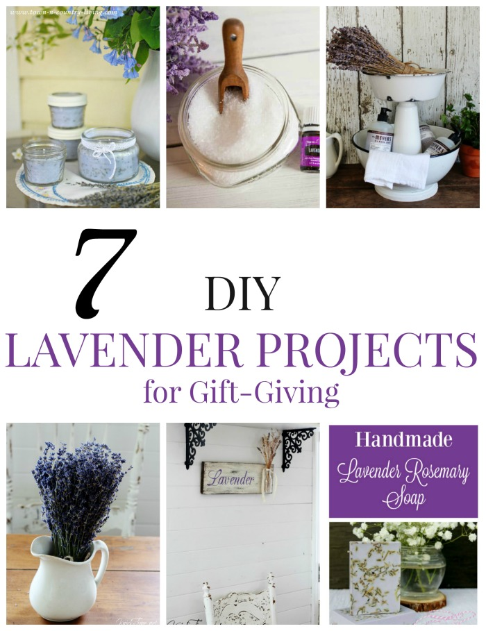 7 DIY Lavender Projects for Gift-Giving |www.knickoftime.net #KnickofTime #gardengifts #lavender