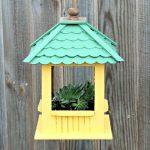 DIY Gazebo Succulent Hanging Planter