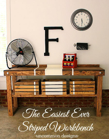 Quick and Easy Striped Workbench