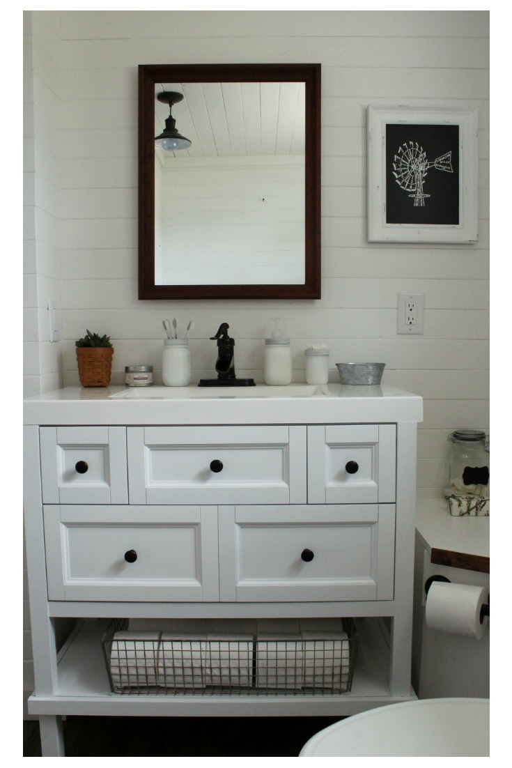 Choosing The Right Farmhouse Bathroom Vanity Knick Of Time