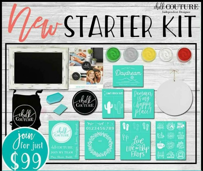 Getting Started with Chalk Couture Starter Kit | www.knickoftime.net