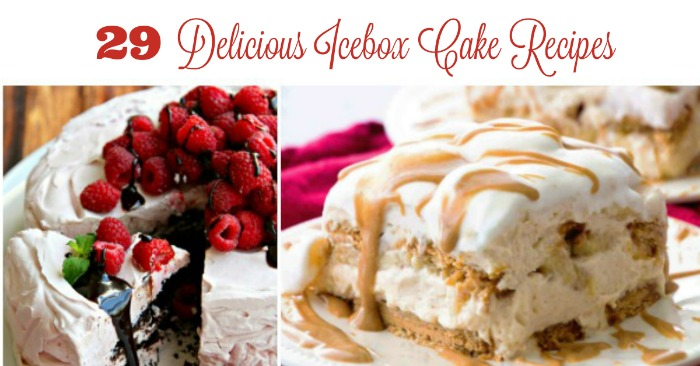 29 Delicious, Easy Icebox Cake Recipes A Roundup from Knick of Time | knickoftime.net