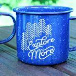 Chalk Couture Explore More DIY Enamel Mugs