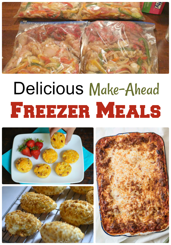 Delicious Make-Ahead Freezer Meals Recipes Roundup from Knick of Time | knickoftime.net