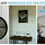 3 Easy Farmhouse Decor DIY Project Ideas