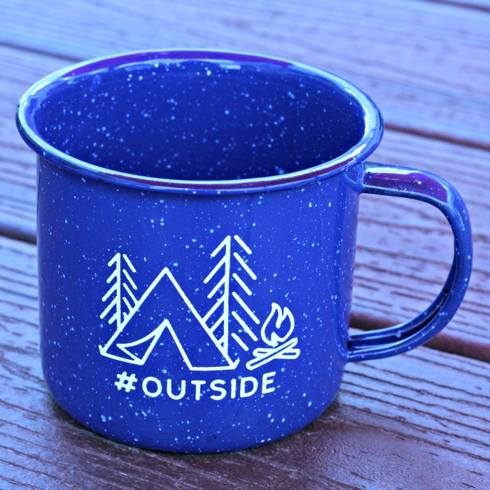 Explore More #Outside Enamel Camping Mugs | knickoftime.net