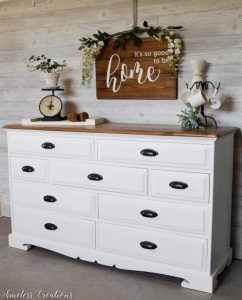 Farmhouse Dresser featured at Knick of Time
