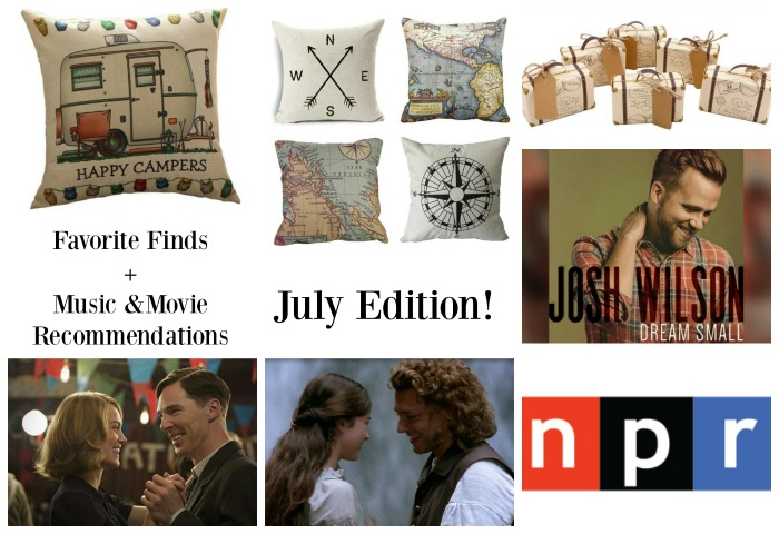 Favorite Finds, Movie & Music Recommendations: July Edition by Knick of Time | knickoftime.net