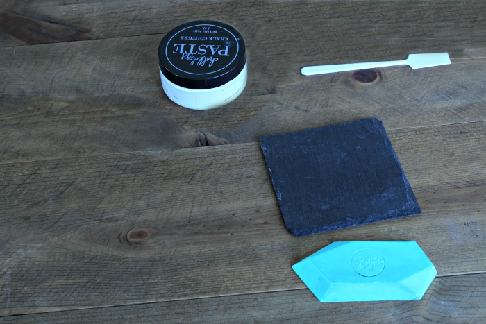 Chalk Couture Farmhouse Style Slate DIY Coasters