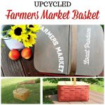 Market Basket Upcycled with Dixie Belle & Chalk Couture