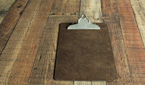 Fall DIY Chalkboard Clipboard Wall Art