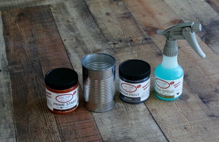 DIY Rusted Tin Cans Succulent Planters Supplies | knickoftime.net