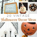 Vintage Halloween Decor Ideas | knickoftime.net