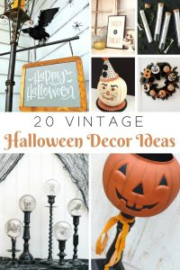 Vintage Halloween Decor Ideas | knickoftime.net