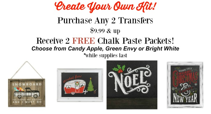 Chalk Couture Create a Kit exclusively from Knick of Time | knickoftime.net