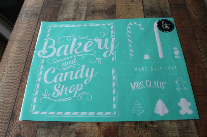 Chalk Couture Mrs. Claus' Candy Shop available from Knick of Time | knickoftime.net