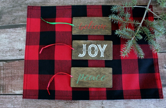 DIY Gift Wrapping Idea Make these wood tags as gift tie-ons! Learn how at Knick of Time | knickoftime.net