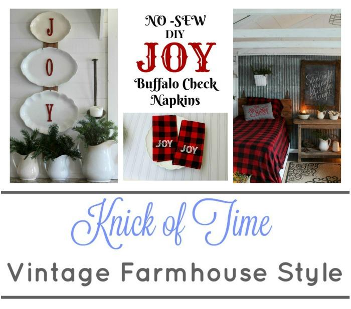 Knick of Time Farmhouse Christmas Decor