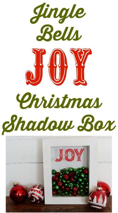 Jolly Christmas Jingle Bells Shadow Box by Knick of Time | knickoftime.net