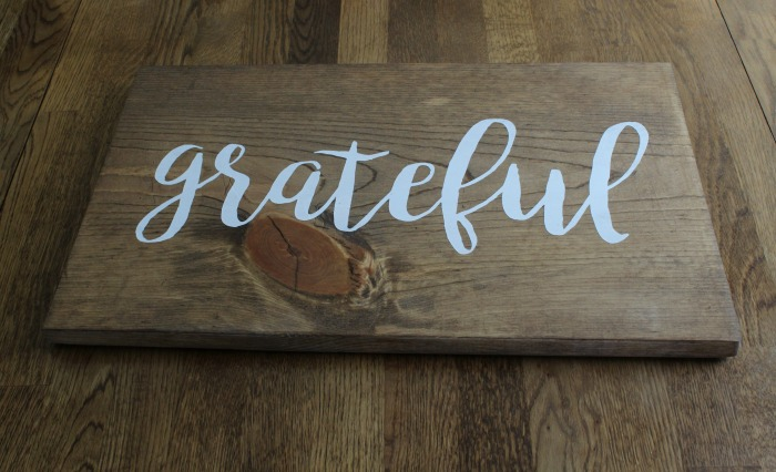 Grateful Wood Sign by Knick of Time | knickoftime.net
