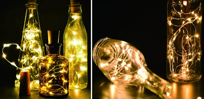 Wine Bottle Light Cork Light LED Light Strings