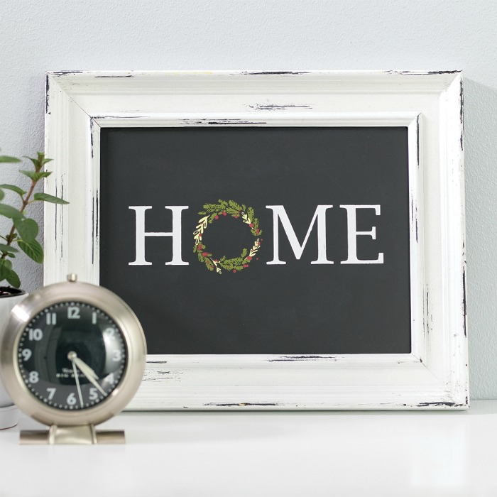 Chalk Couture Home & Wreath Chalkboard Sign