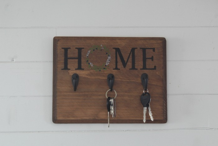 Chalk Couture Home & Wreath Key Hooks by Knick of Time