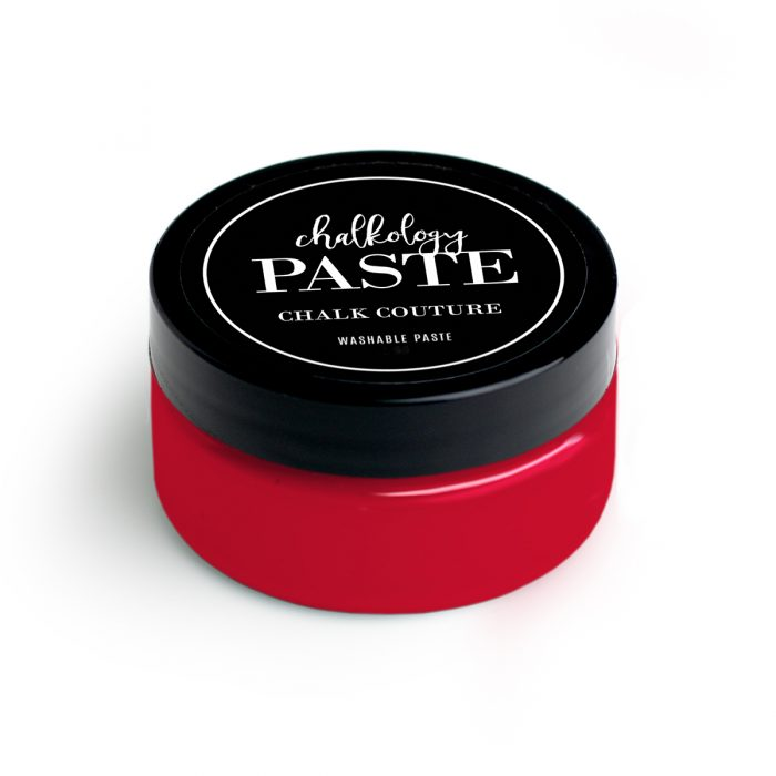 Chalkology Paste Candy Apple