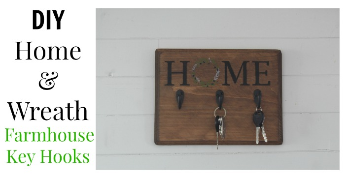 DIY Chalk Couture Home & Wreath Key Hooks by Knick of Time   knickoftime.net