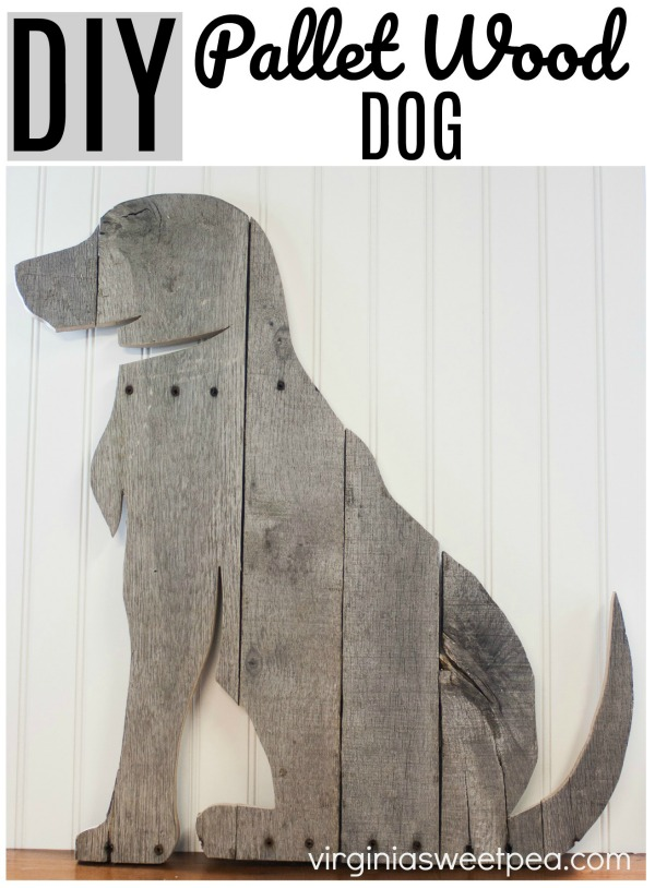 DIY Pallet Wood Dog