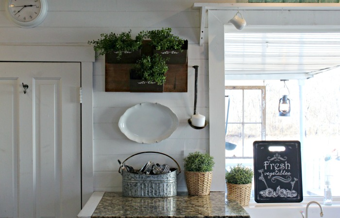 Rustic Metal Grain Elevator Bins Repurposed Farmhouse Kitchen Wall Bins by Knick of Time | knickoftime.net