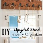 Salvaged Wood Jewelry Holder