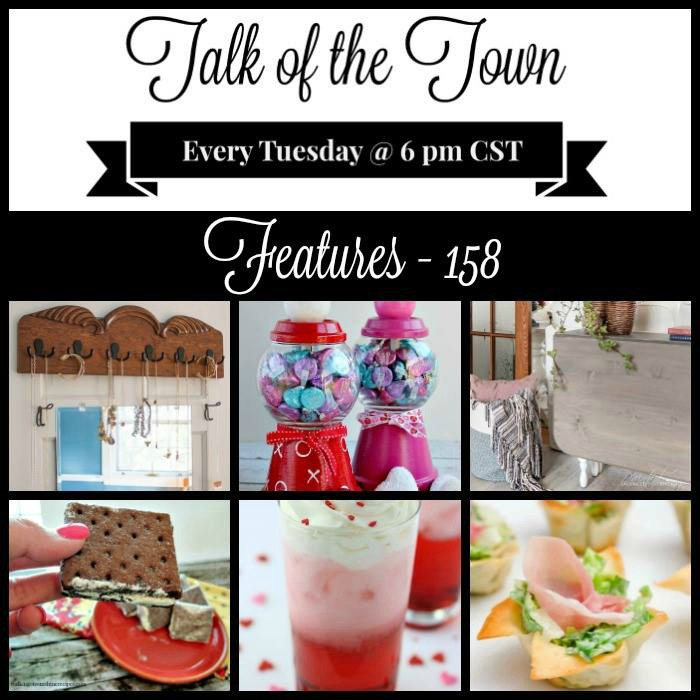 Talk of the Town link party features at Knick of Time | knickoftime.net