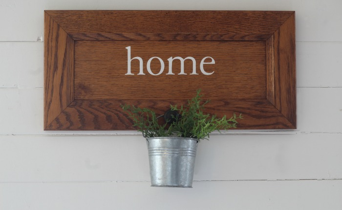 Cabinet Door Repurposed Sign by Knick of Time - knickoftime.net
