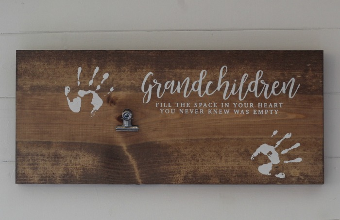 Grandparents Grandchildren Photo Display Wall Sign Decor by Knick of Time | knickoftime.net