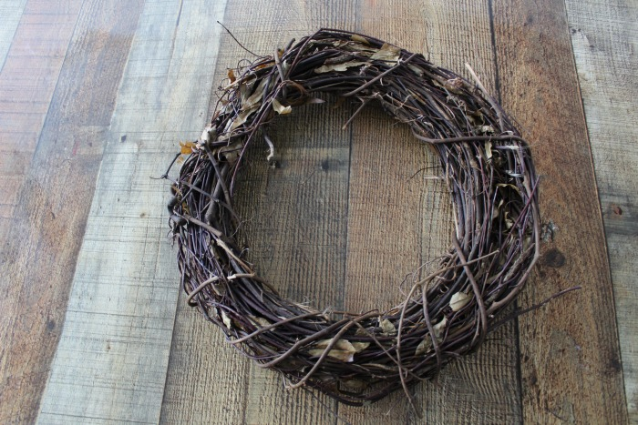 Farmhouse Garden Spring Grapevine Wreath