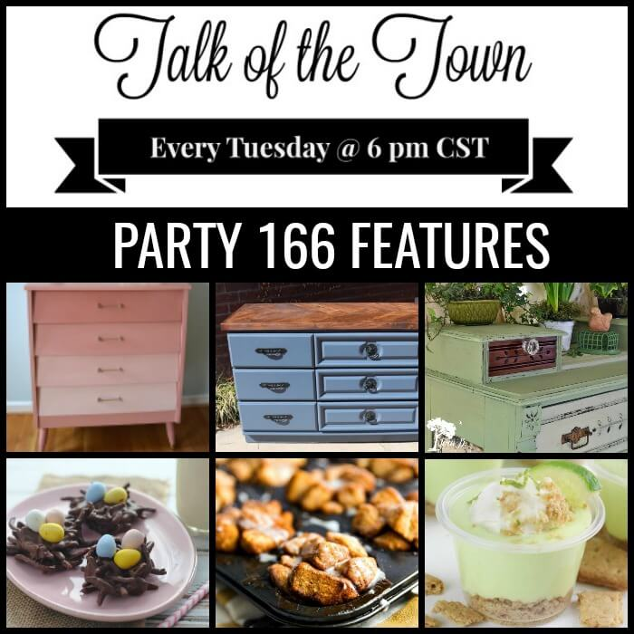 Talk of the Town Link Party Features 166