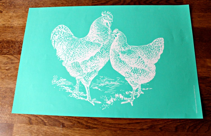 Chalk Couture Chickens transfer Corner Market Collection available from Knick of Time