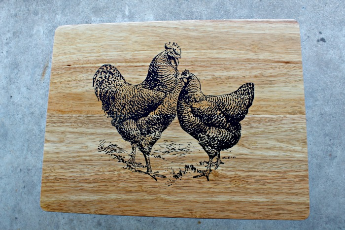 Chickens TV Tray Table Knick of Time