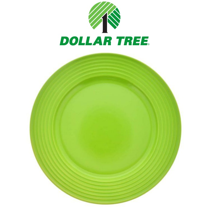 Dollar Tree plates makeover home kitchen decor