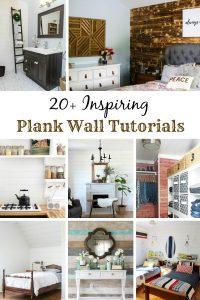 20+ Inspiring DIY Plank Wall Tutorials / knickoftime.net