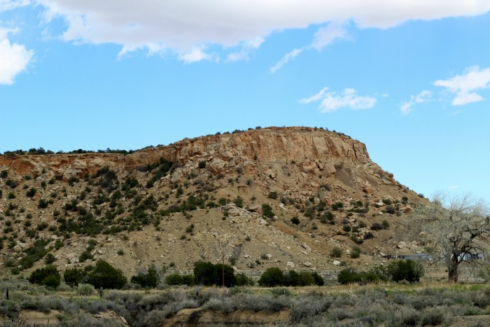 New Mexico desert scenic views