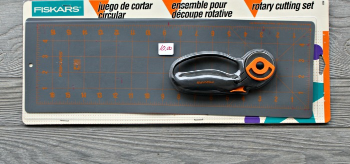 Fiskars rotary cutter mat