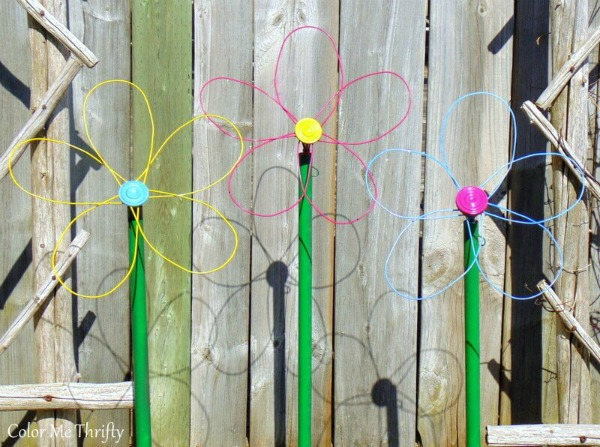 Repurposed Whisk Flower