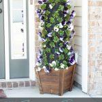 DIY Patio Flower Tower Planter