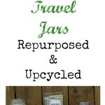 Vacation Travel Jars Repurposed & Upcycled by Knick of Time