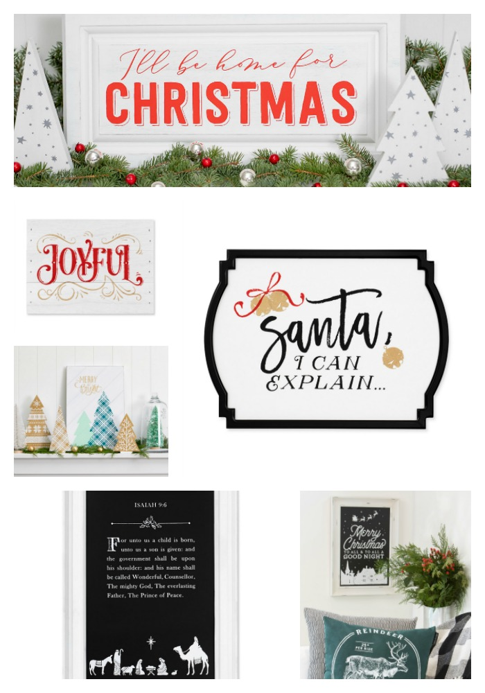 Chalk Couture Christmas Transfers Designs available from Knick of Time